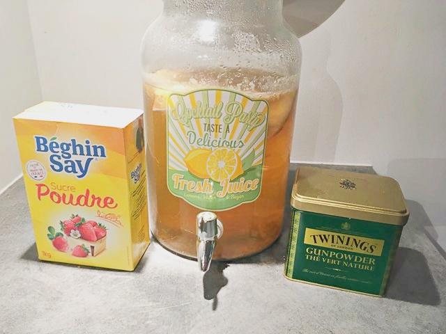kombucha ingredients