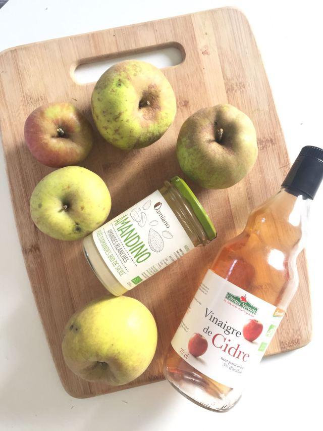 Beurre de pomme ingrédients